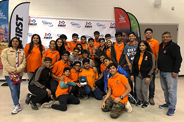 BIS Students Shine at Regional Robotics Competition in New York